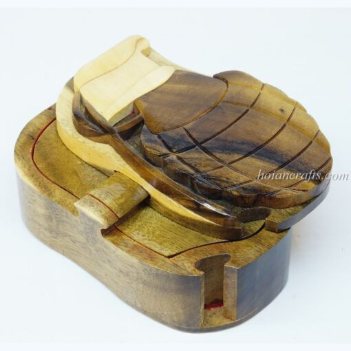 Intarsia wooden puzzle boxes 9a
