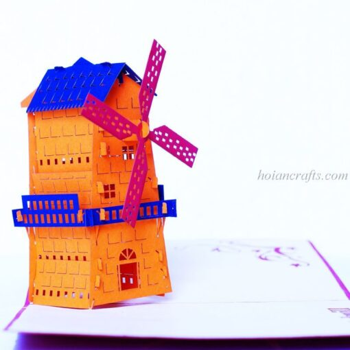 Miniature 3D Pop up cards 1