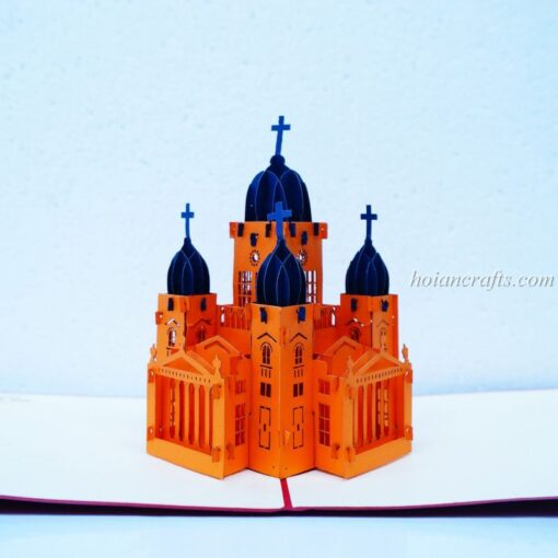 Church Pop Up Card 01