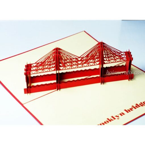 Brocklyn Bridge Pop Up Card