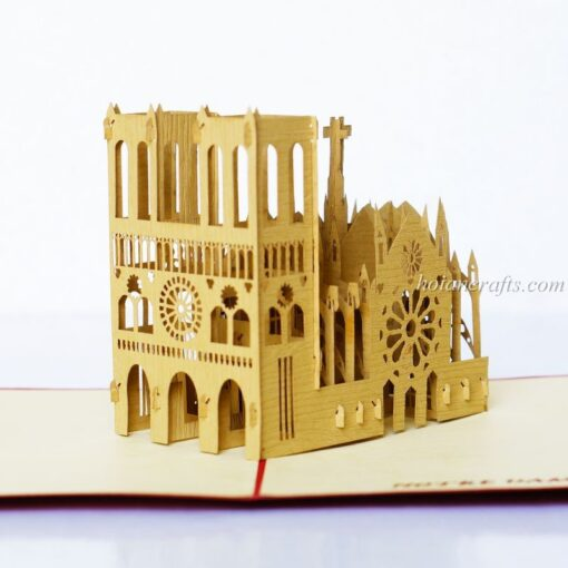 Notredame De Paris Pop Up Card