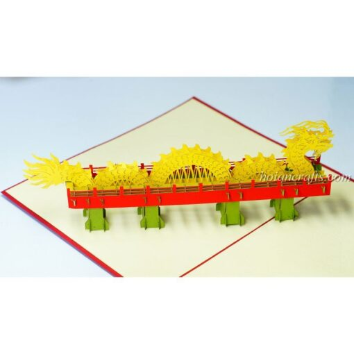 Dragon Bridge Pop Up Card