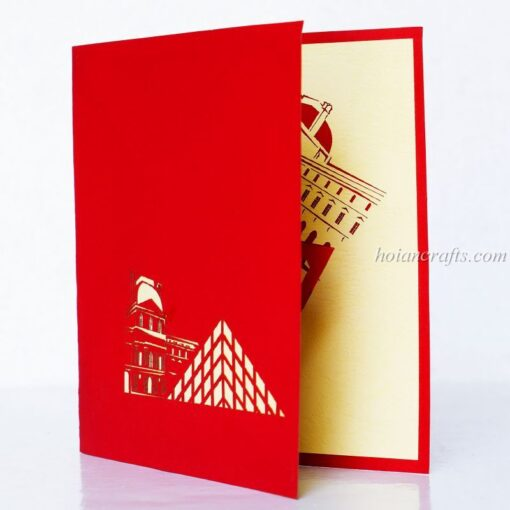 Museum Pop Up Card