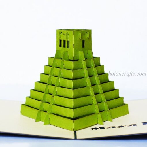 Pyramid Pop up Card