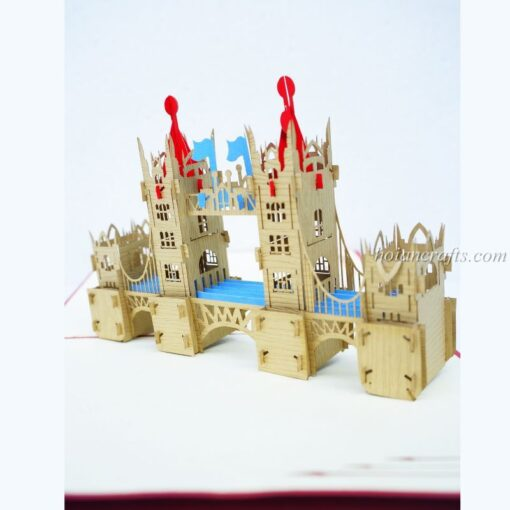 London Bridge Pop Up Card