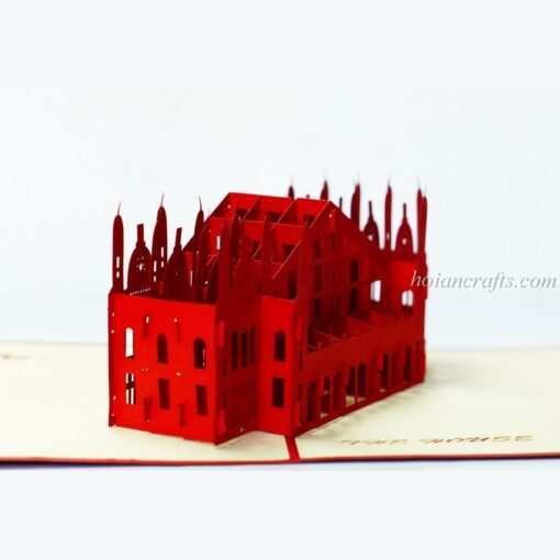 The Houses Pop Up Card