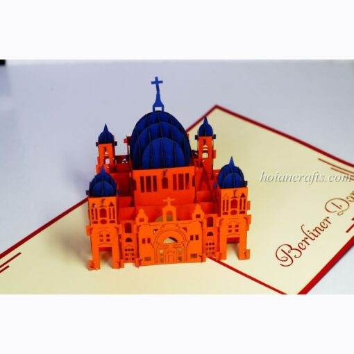 Berlin Dom Pop Up Card
