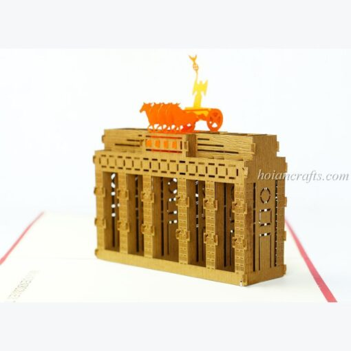Brandenburger Tor Pop Up Card