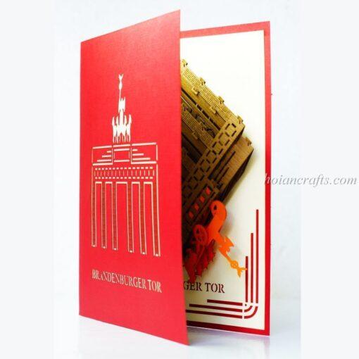 Brandenburger Tor Pop Up Card