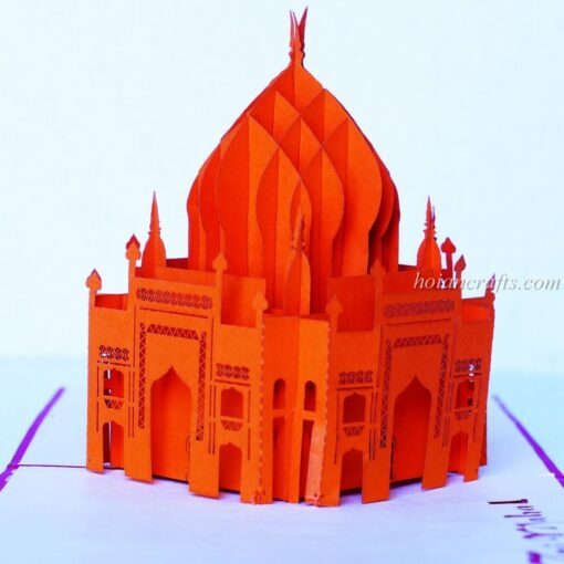 Tai Mahal Pop Up Card
