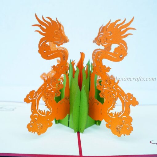 Dragon 3D Pop Up Cards 01