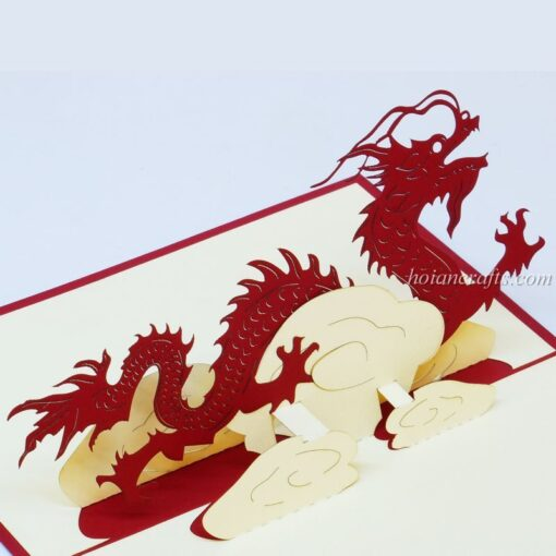 Dragon 3D Pop up Cards 03