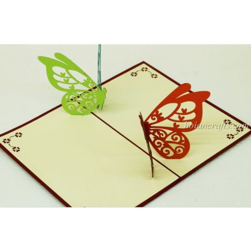 Butterfly 3D Pop Up Cards 05