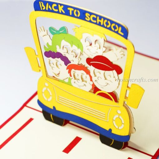 Back to school pop up cards 1