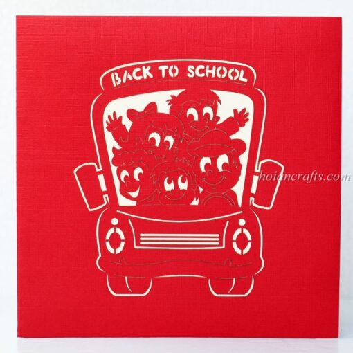 Back to school pop up cards