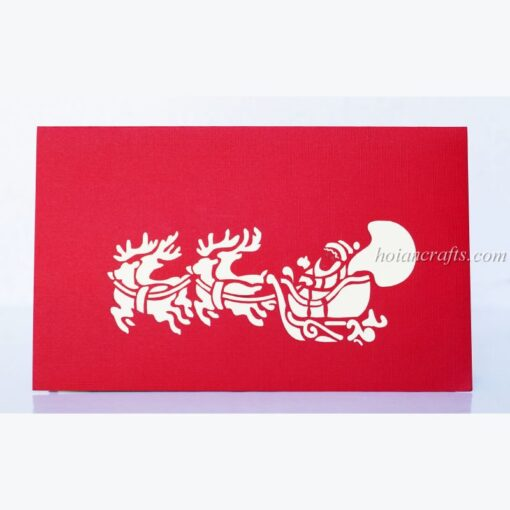 Christmas 3D Pop Up Cards 02