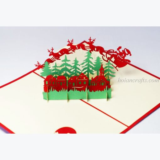 Christmas 3D Pop up Cards 06