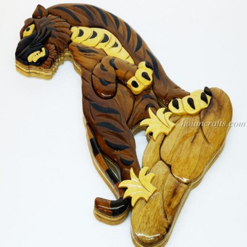 Intarsia wood art painting 11