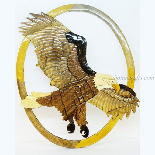 Intarsia wood art painting 5