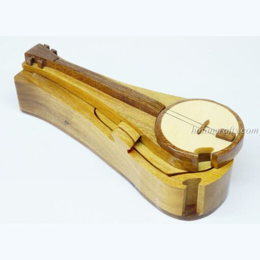 Intarsia wooden puzzle boxes 11a