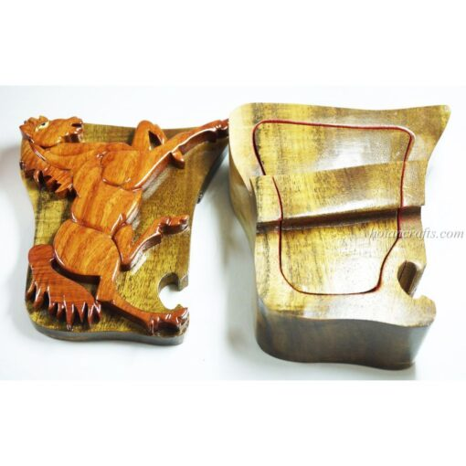 Intarsia wooden puzzle boxes 37b