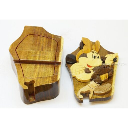 Intarsia wooden puzzle boxes 47b