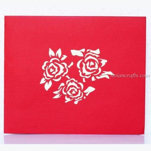 Pop up flower cards 11