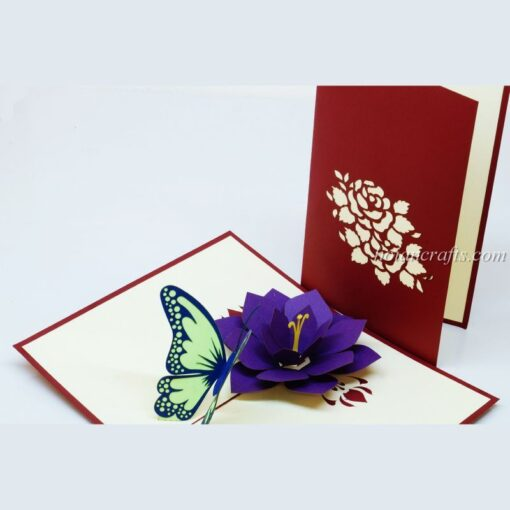 Pop up flower cards 15
