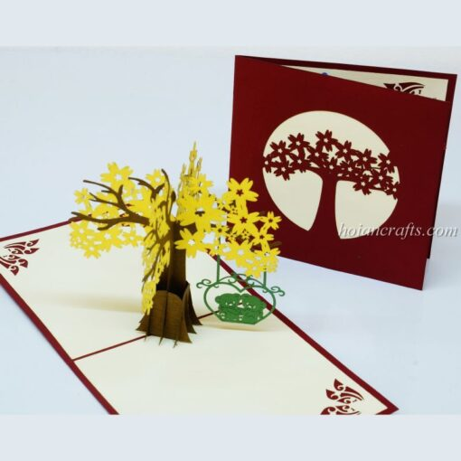 Pop up flower cards 16