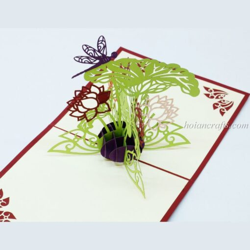 Pop up flower cards 17