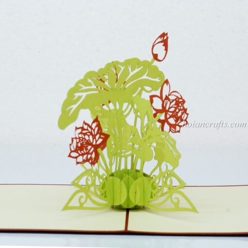 Pop up flower cards 18