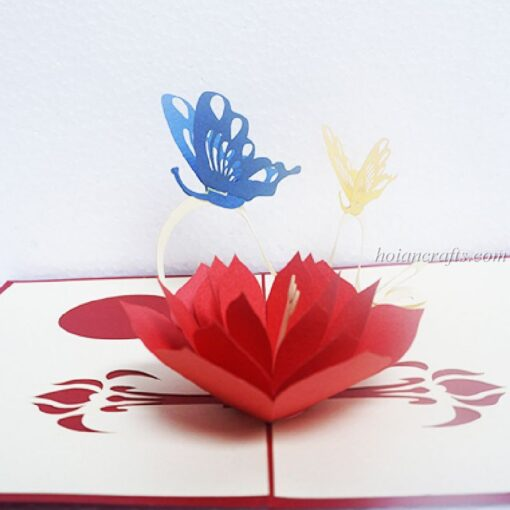Pop up flower cards 22