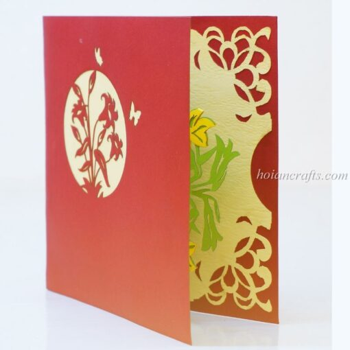 Pop up flower cards 23