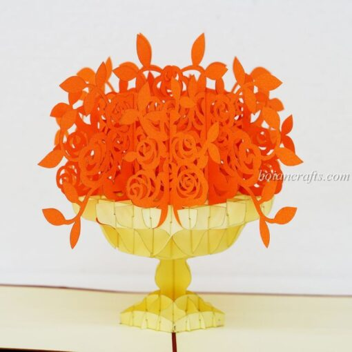 Pop up flower cards 4