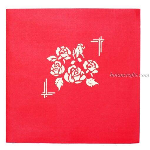 Pop up flower cards 5