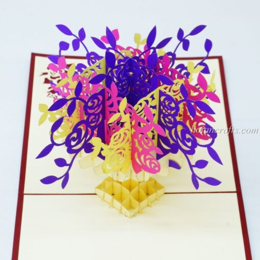 Pop up flower cards 6