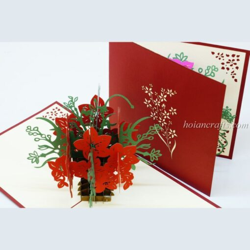 Pop up flower cards 7