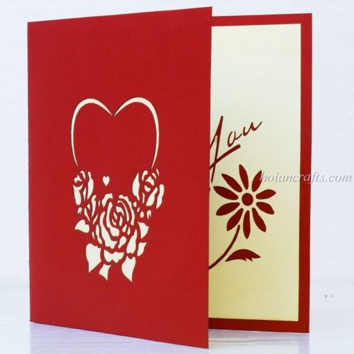 Pop up love cards 4
