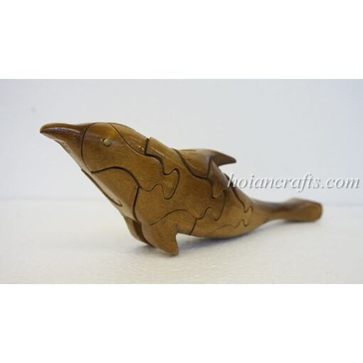 wood puzzles Dophin