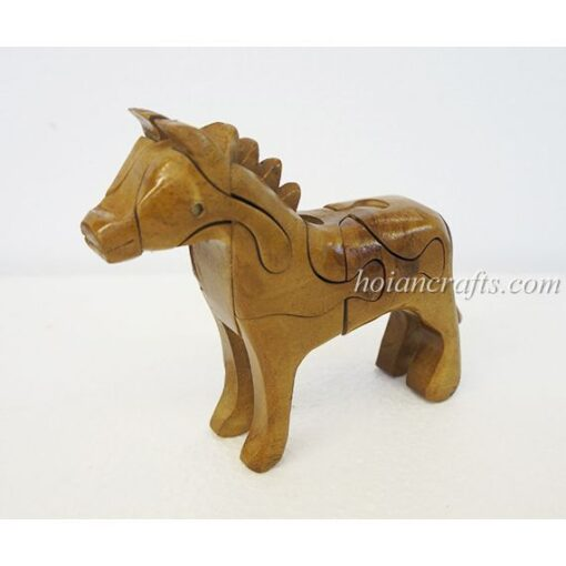 wood puzzles Horse