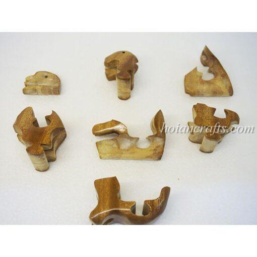 wood puzzles Monkey