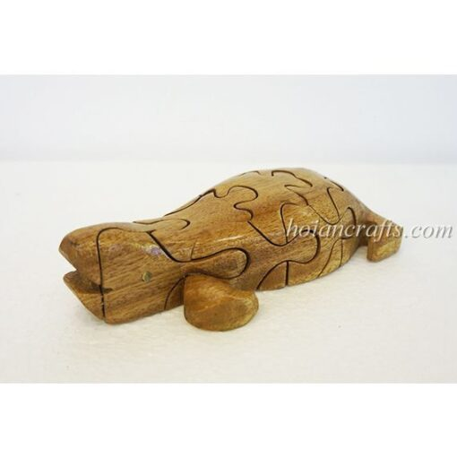 wood puzzles Turtle