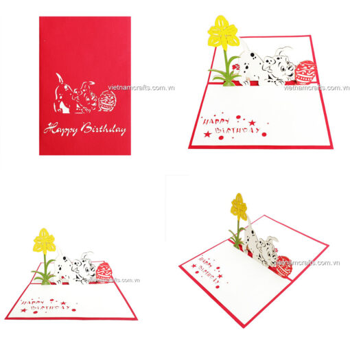 Birthday Pop up Card - BD14