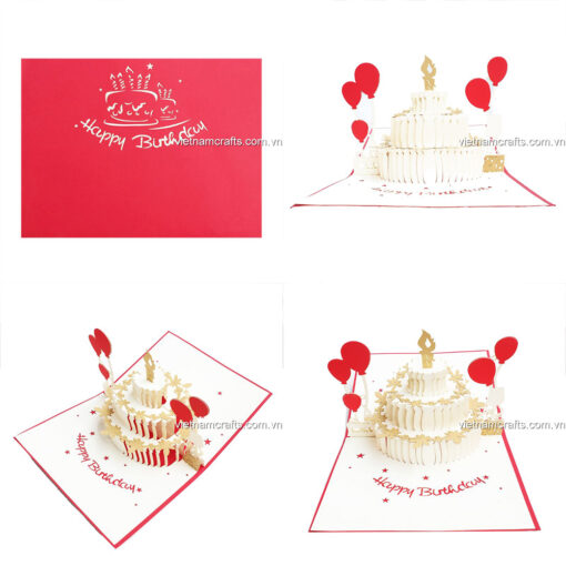 Birthday Pop up Card - BD15