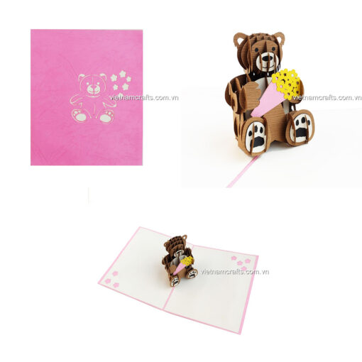Birthday Pop up Card - BD17