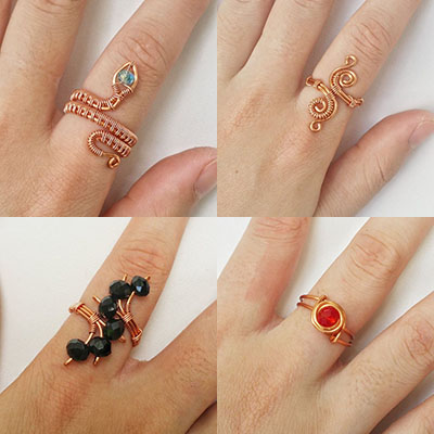 Copper Wire Rings