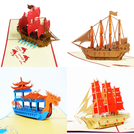 Pop up Ship Card
