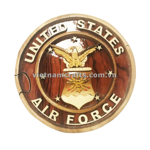 Buy Wholesale Intarsia Jewelry Wooden Puzzle Box Vietnam US Air Force
