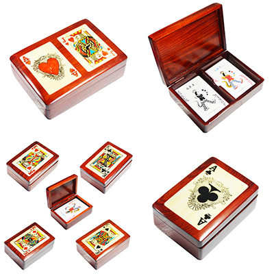 Wooden Playing Card Deck