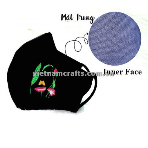 Buy wholesale embroidery face mask supplier vietnam (1)
